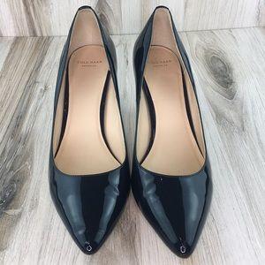 Cole Haan Blue Pointy Heels